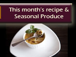 Recipes and Seasonal Produce